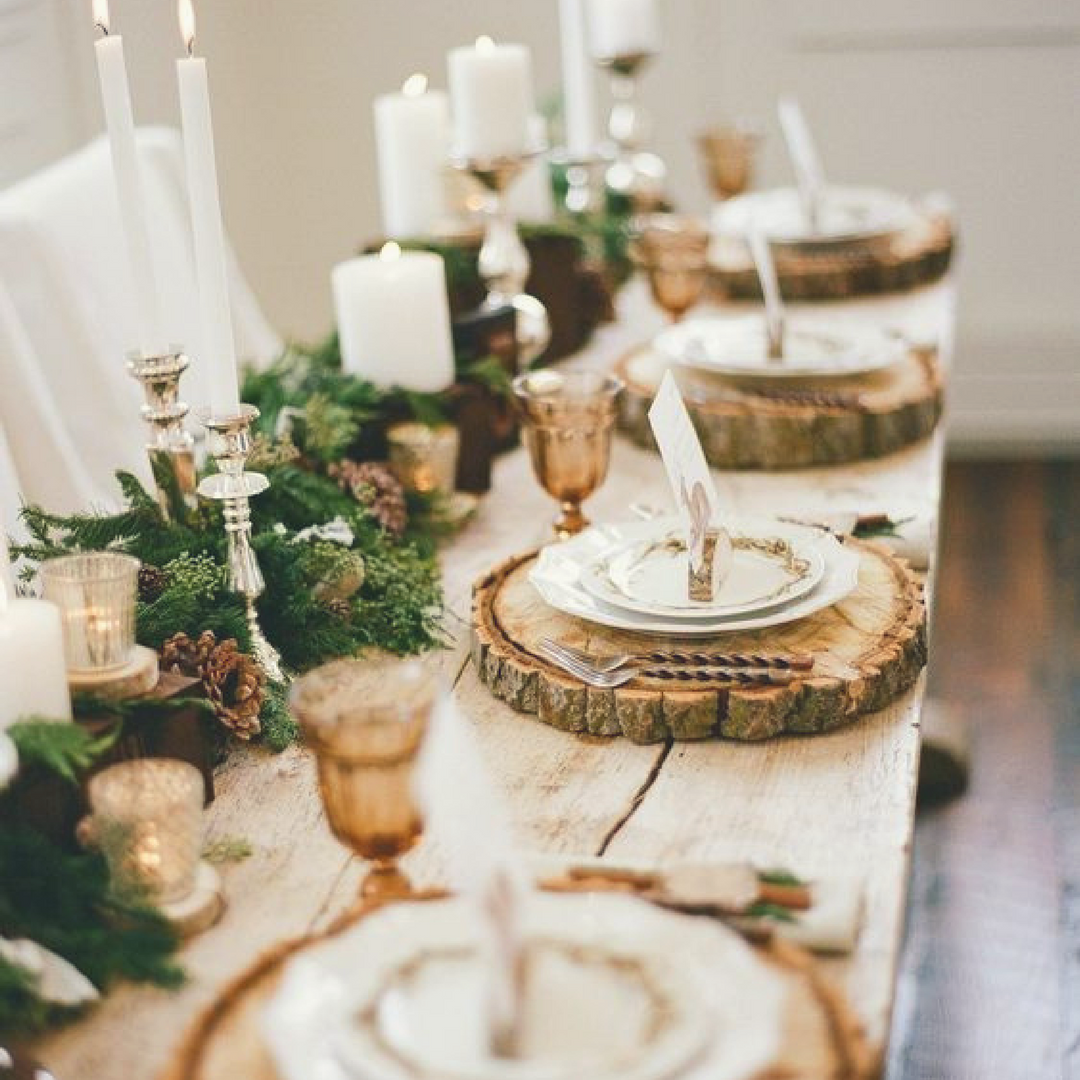 Rustic Woodsy Wedding Ideas: 8 Ways To Use Wood Slices In Your Woodland Wedding