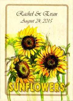 Seed Packet Gallery | Wedding Favor Seed Packets